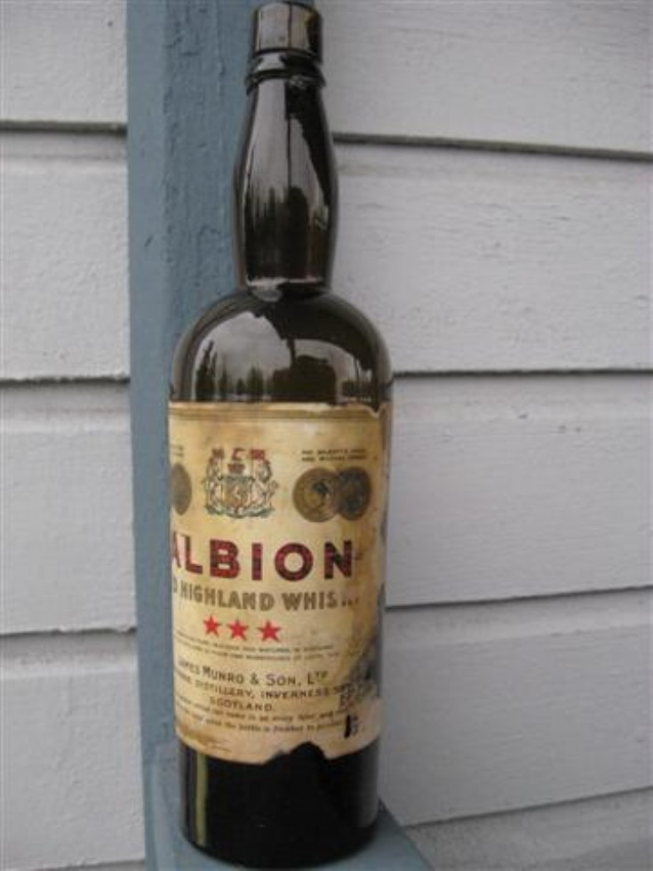 Albion Old Highland Whisky