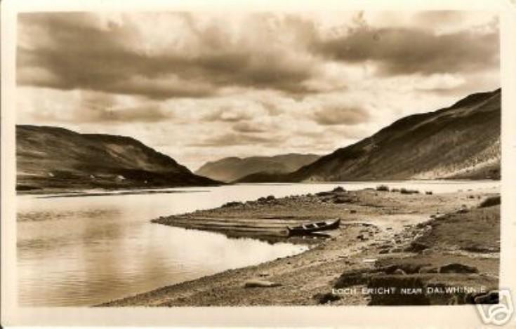 Postcard of Loch Ericht