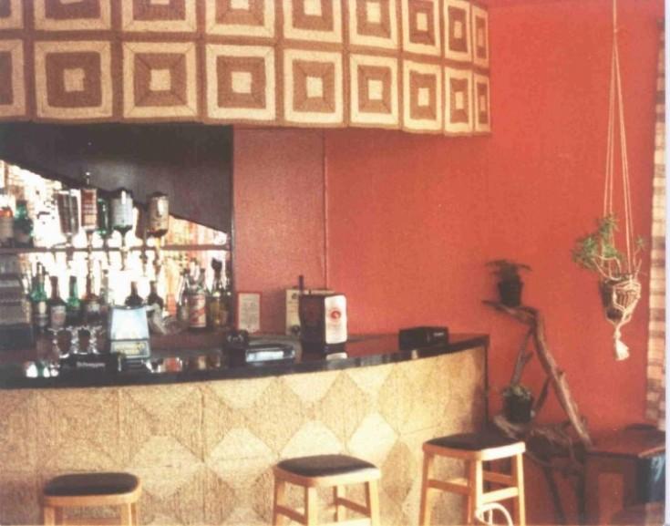 Grampian Hotel cocktail bar