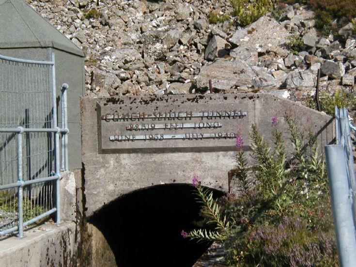 Loch Seilich to Loch Cuaich tunnel