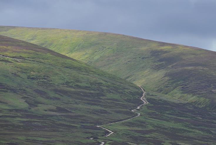 Dappled hillsides, Dalwhinnie