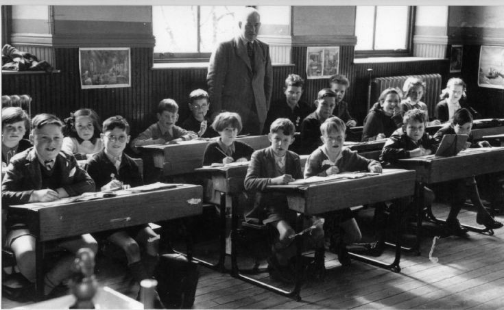 Dalwhinnie School c1955