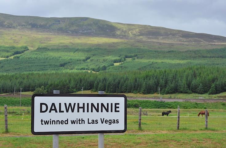 Dalwhinnie - twinned with Las Vegas