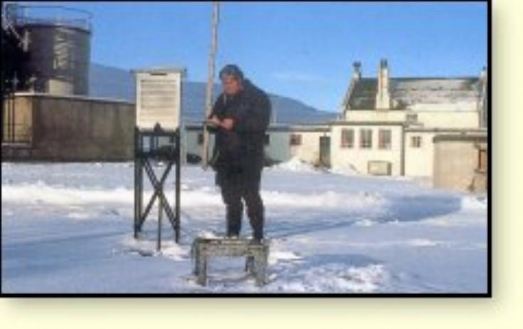 Dalwhinnie Distillery's meteorologist