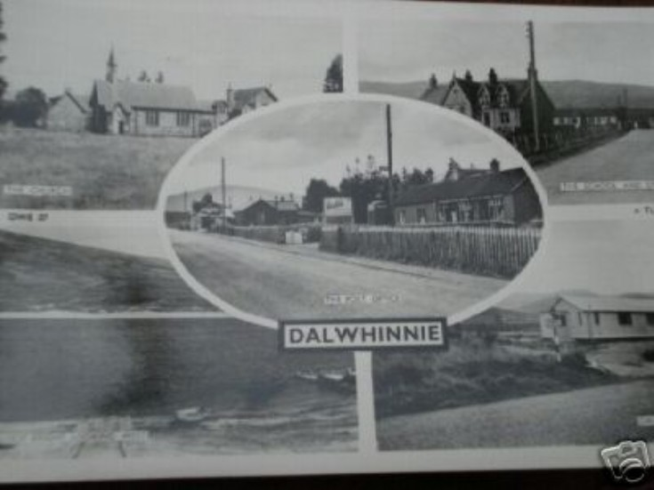 Dalwhinnie postcard