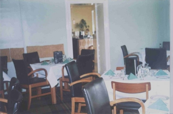 Dining room of