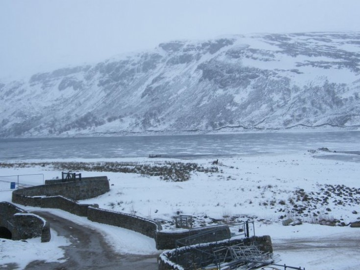 Frozen Loch Ericht