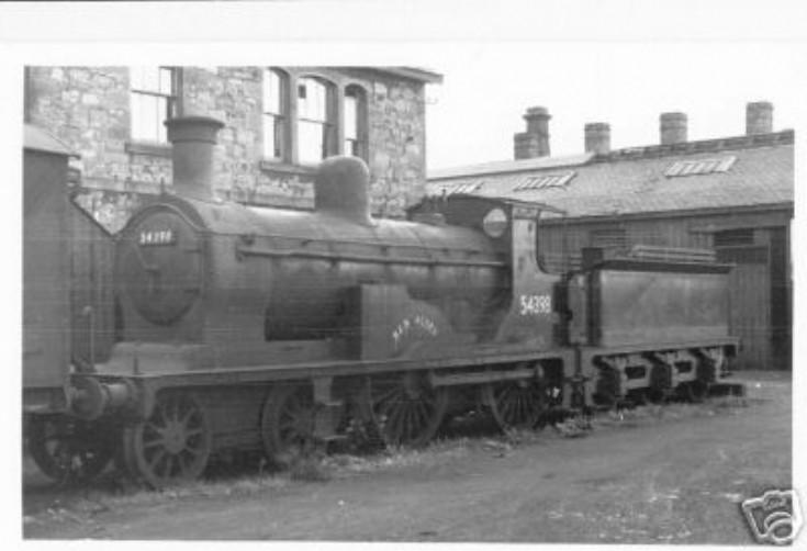 Locomotive 'Ben Alder'