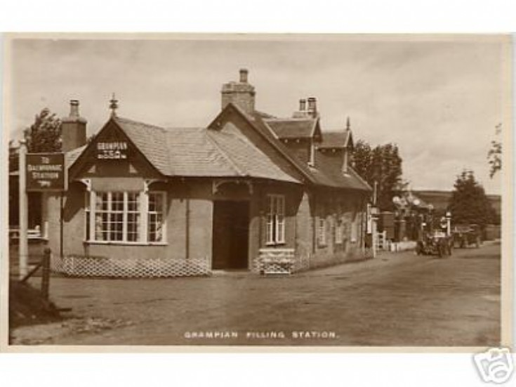 Grampian Filling Station Dalwhinnie