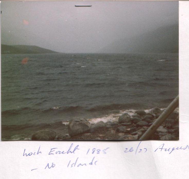 A typical summer's day on Loch Ericht.