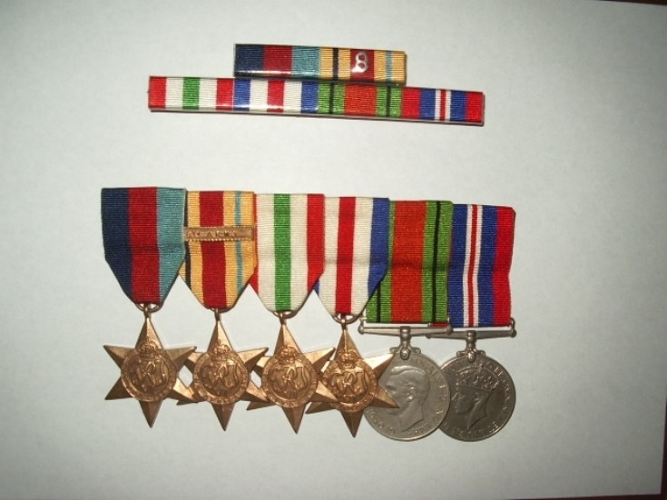 Sgt Jim McLagan's War Medals
