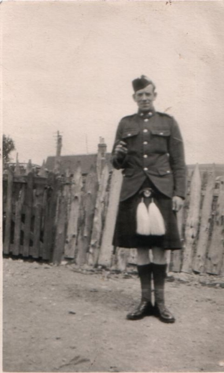 Lance Corporal Jock Craib (photo taken possibly in 1930s?)