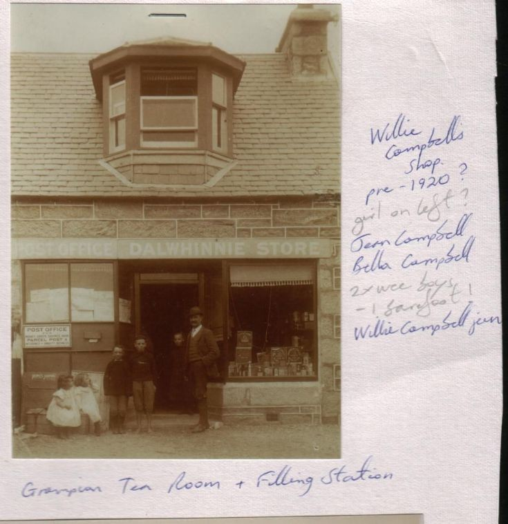 Campbell's shop c1900s