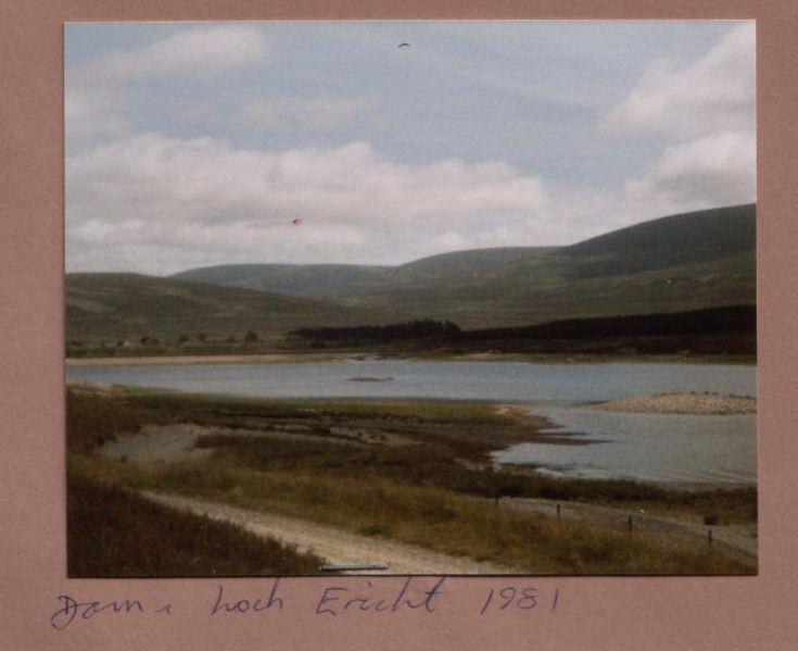 Dam and Loch Ericht