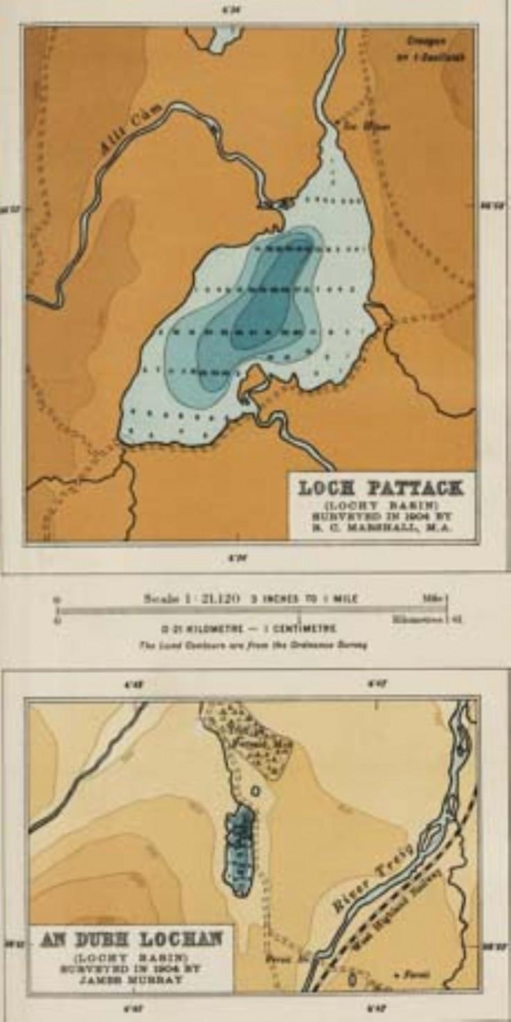 Loch Pattack bathymetric survey
