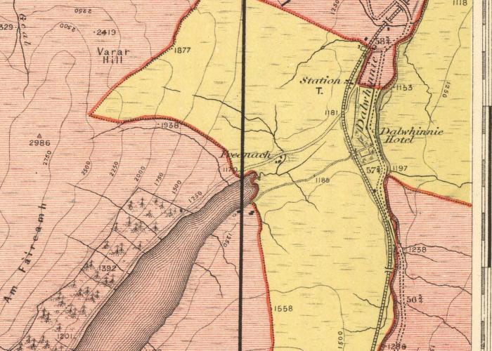 Map of the Parish