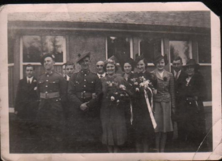 Marriage of Bella Wallace and Tommy Kerr at Dalwhinnie Hall