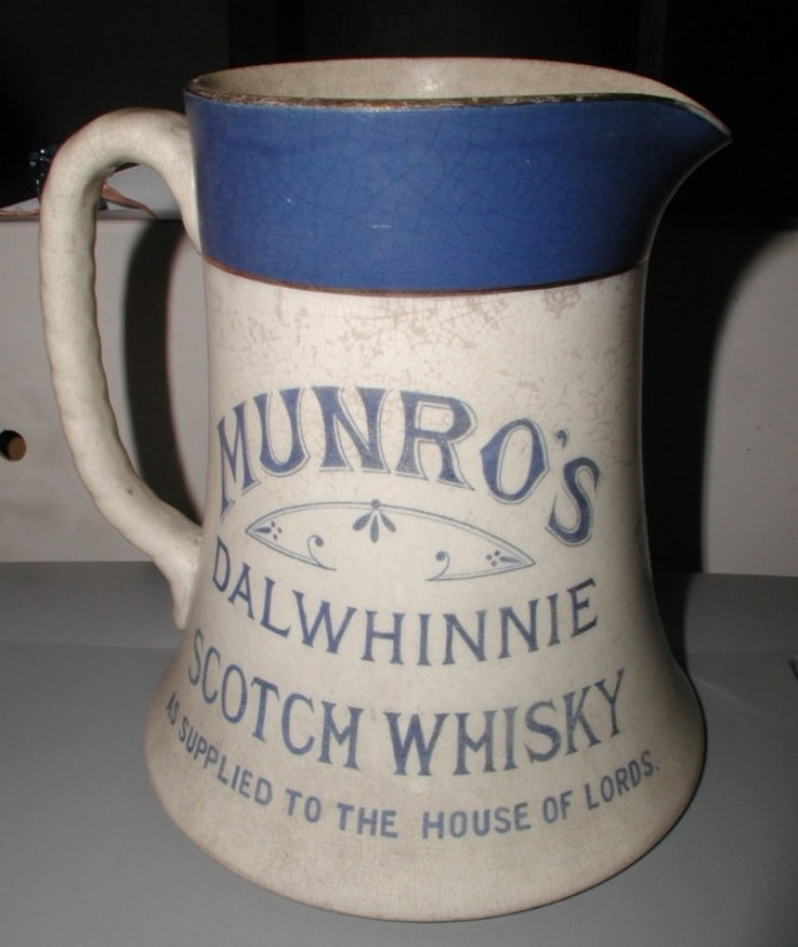 Old Dalwhinnie Whisky water jug