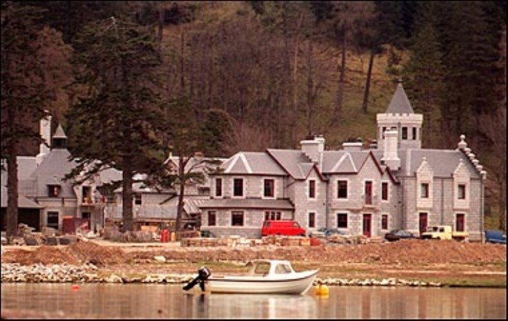 New Ben Alder Lodge