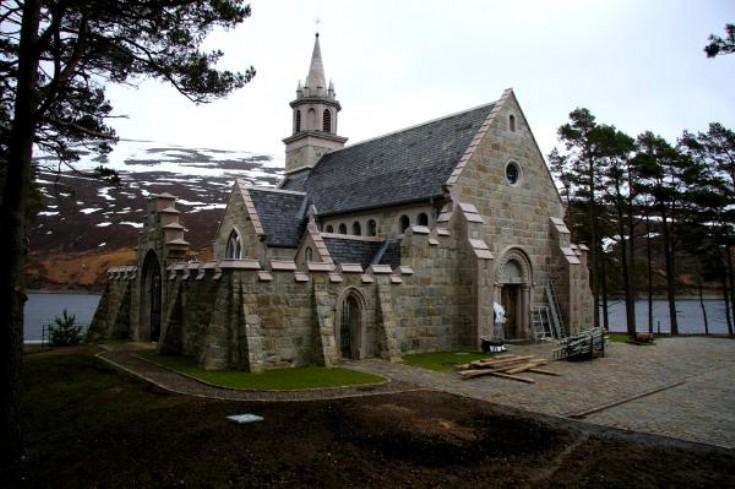 New Chapel at Ben Alder Lodge