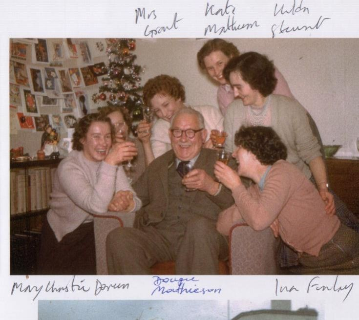 Dougie Mathieson and ladies
