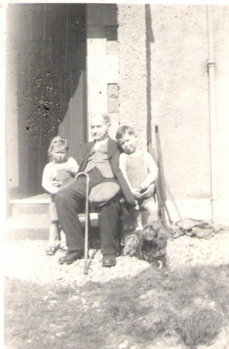Helen, Peter & Robert McLagan