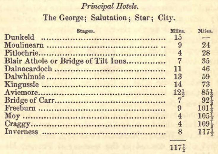 Old A9 Inns