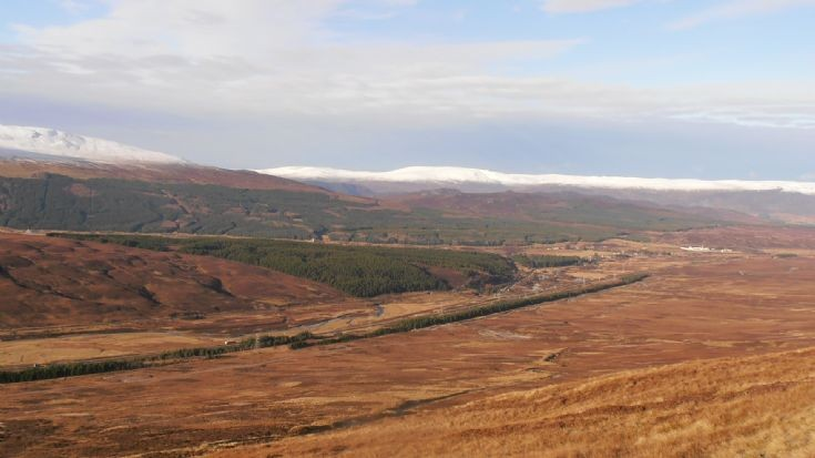 View of Dalwhinnie