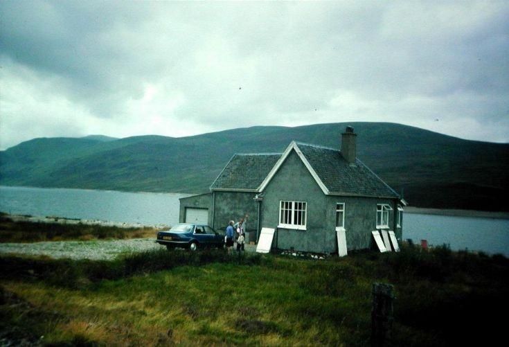 Ben Alder Gate Lodge
