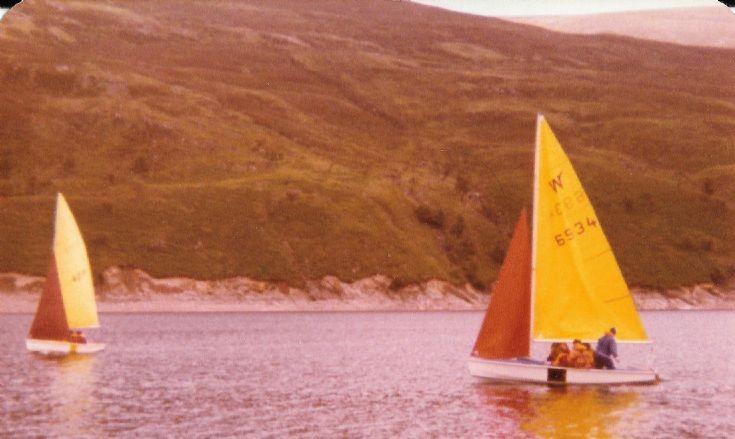 Boats on Loch Ericht