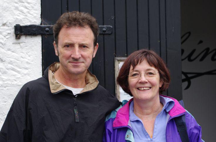 Tom and Alison Sheridan