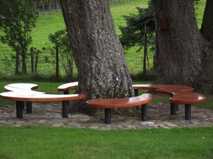 School playground, Dalwhinnie