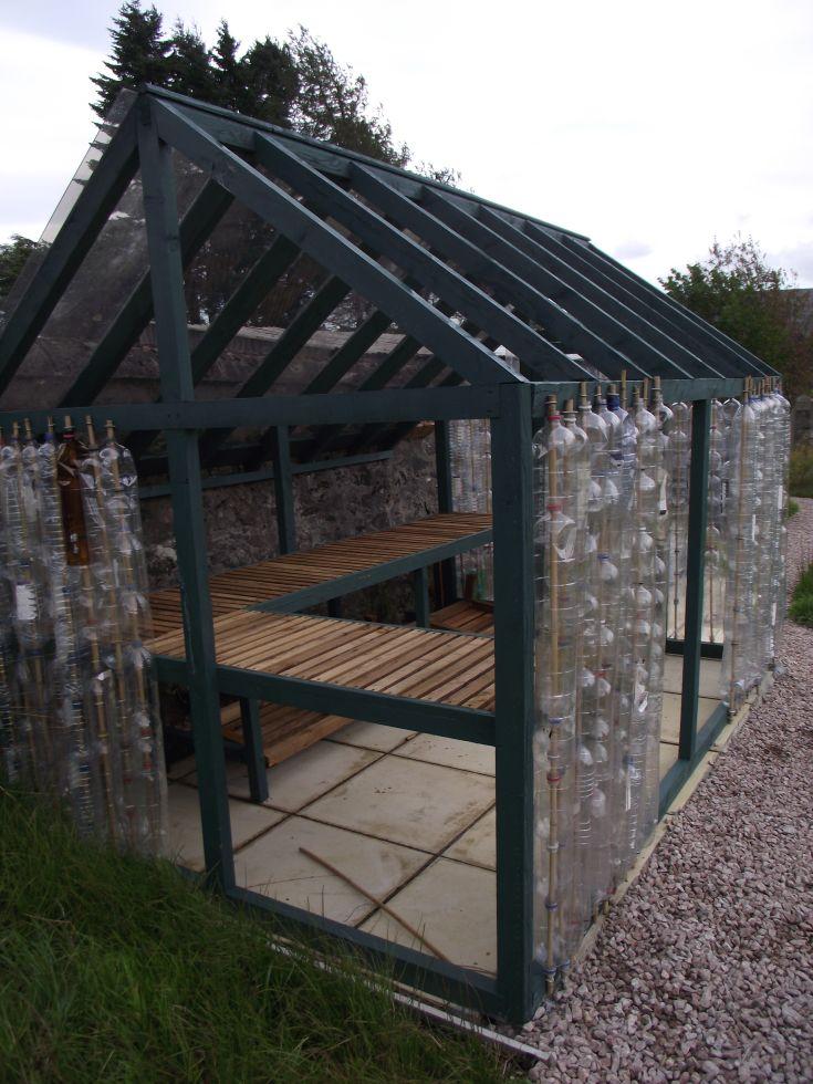 Dalwhinnie school greenhouse
