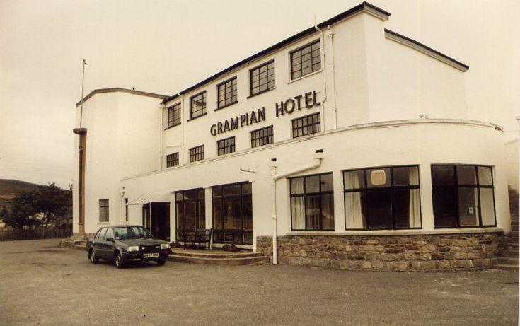 Grampian Hotel in 1986